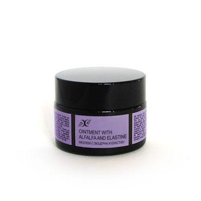 Крем - мехлем против бръчки с Люцерна и Еластин, 50 ml