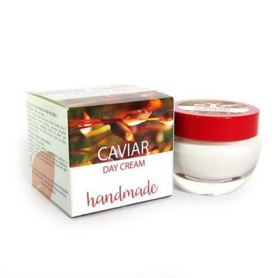 Дневен крем за лице с Хайвер - ръчно приготвен - хидратиращ и изглаждащ, 50 ml