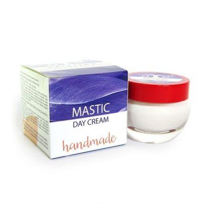 Дневен крем за лице с Бяла дъвка - ръчно приготвен - 100% натурален, 50 ml