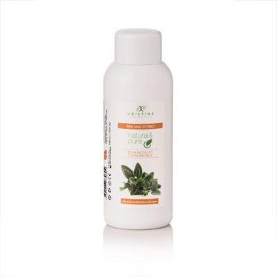 Тоалетно мляко за почистване на лице, очи и устни с екстракт от Салвия, 150 ml
