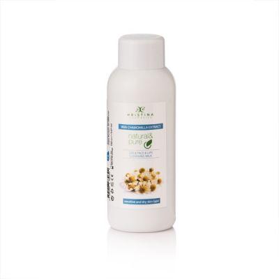 Тоалетно мляко за почистване на лице, очи и устни с екстракт от Лайка, 150 ml