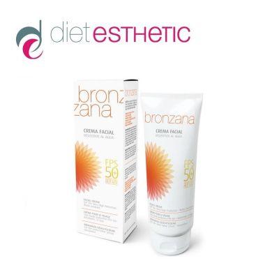 Крем за лице Diet Esthetic Bronzana, 75 ml - слънцезащитен, с много висок фактор SPF50+