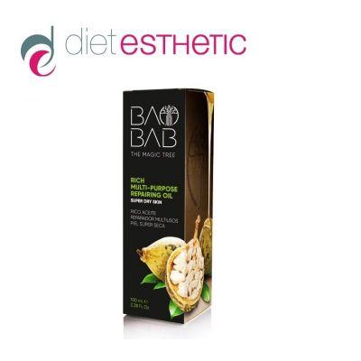 Mасло за лице, коса и тяло Diet Esthetic, 100 ml - с масло от Баобаб, възстановяващо, мултифункционално