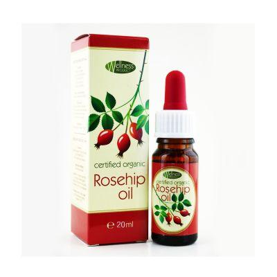 Шипково масло Wellness Product, 20 ml - студено пресовано, 100% чисто и натурално
