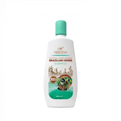 Шампоан за коса Козметика Христина, 400 ml - с бразилски билки