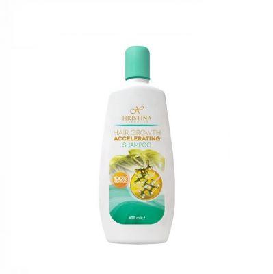 Шампоан за коса Козметика Христина, 400 ml - за ускоряване растежа на косата
