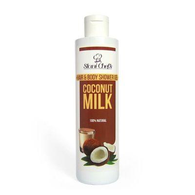Душ-гел за коса и тяло Stani Chef's Body Food, 250 ml - Кокосово мляко