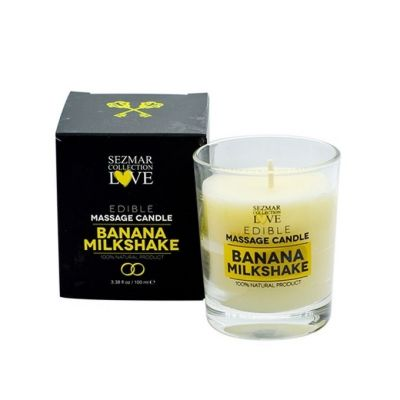 Афродизиакална масажна свещ - Банан, 100 ml