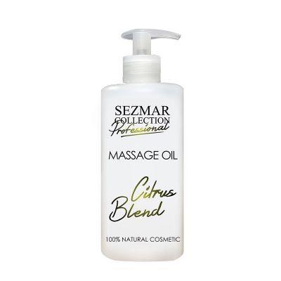 Професионално масажно масло за тяло Sezmar Professional, 500 ml - Цитрусов микс
