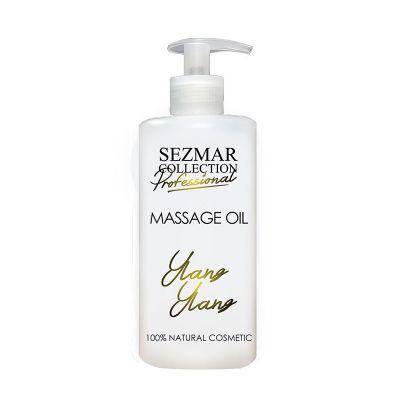 Професионално масажно масло за тяло Sezmar Professional, 500 ml - Иланг-Иланг