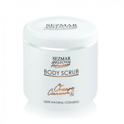 Професионален пилинг за тяло Sezmar Professional, 500 ml - Портокал & Канела
