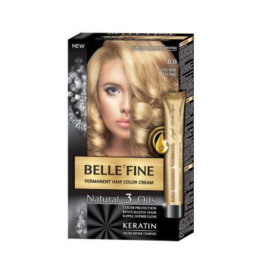 Крем-боя за коса Belle`Fine № 8.0 - натурално-рус
