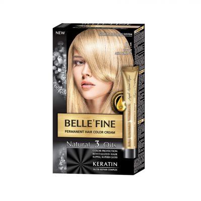Крем-боя за коса Belle`Fine № 8.1 - светъл пепелно-рус