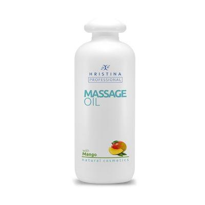 Професионално масажно масло за тяло Козметика Христина, 500 ml - Манго