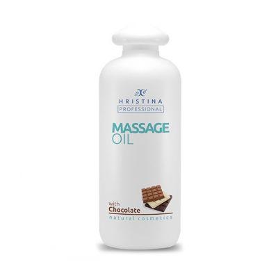 Професионално масажно масло за тяло Козметика Христина, 500 ml - Шоколад