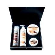 Подаръчен комплект Stani Chef - Храна за тяло, 4 части - Шоколадови бисквитки