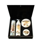 Подаръчен комплект Stani Chef - Храна за тяло, 4 части - Кокосово мляко