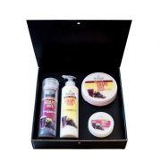 Подаръчен комплект Stani Chef - Храна за тяло, 4 части - Гроздов сок