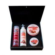 Подаръчен комплект Stani Chef - Храна за тяло, 4 части - Ягодов мус