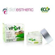 Гел за лице Diet Esthetic VIT VIT, 50 ml - със 100% натурална слуз от Охлюви, за чувствителна кожа
