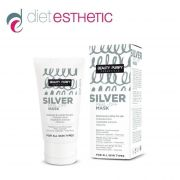 Маска за лице Diet Esthetic, 50 ml - PEEL OFF, със Сребро