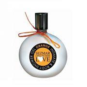 Душ-гел за тяло и интимна зона Sezmar Collection Love, 200 ml - Портокал